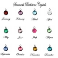 Initial Locket Necklace with Hidden birthstone necklace,Choose your birthstone