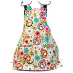 Carnival Capers girls apron