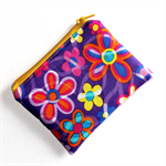 Little Coin Purse in Pretty Floral Fabric
