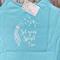 Yoga Singlet - Size 10 - Blue Thin Strap Singlet White Print