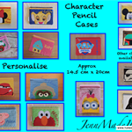Personalised Character Pencil Cases
