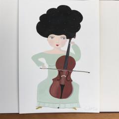 'Cello girl'