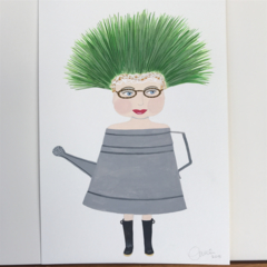 'Watering can girl'