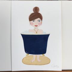 'Bath girl'