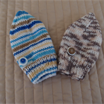 *Special * 2 beanies: Size 1-3 yrs knitted Beanie; Boy