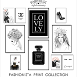 Fashionista Print Collection