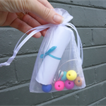 Girls/teens party bags, girls birthday party, necklace party favor, FREE postage