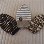 *Special * 3 beanies: Size1-3yrs;  Boy, Multi colours