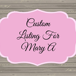 CUSTOM LISTING FOR LUCINDA R