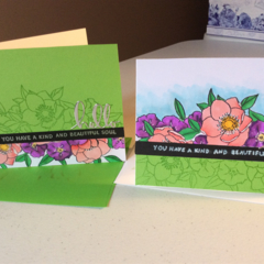 Friendship cards. Thank you cards. Birthday cards.