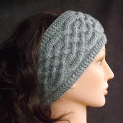 Winter women's headband