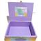 Rainbow Delight Time Capsule Keepsake Trinket Treasure Memory Wooden Baby Box