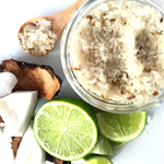 Lime & Coconut Natural Body Scrub