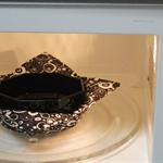 Microwave bowl holder