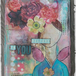 Mixed Media Canvas Art.