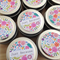 100 x Personalised Favours - Soy Candle Tins - Gold or Silver