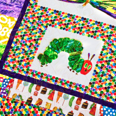 VERY HUNGRY CATERPILLAR handmade quilt