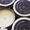 20 x Personalised Favours -  Petite Soy Candle Tins - Gold or Silver