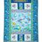 THE RAINBOW FISH handmade quilt