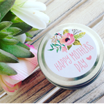 Happy Mothers Day - Soy Candle Tin - Champagne & Strawberries