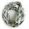 Blue Cactus Infinity Scarf