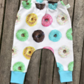 Doughnuts slim harem pants, baby boy girl toddlers
