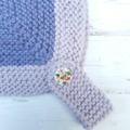 Little Helmet - Hand knitted - Size 0 - 100% Australian Merino Wool