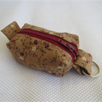 Pouch with Zip and hanging ring