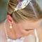Vintage Collage Headband, Shabby Chic Bridesmaid Headband, Wedding Headband