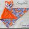 Minky Fox 'Snugabud' - comforter, keepsake, lovey.