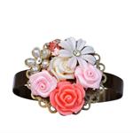 Corsage Bracelet, Bridesmaids Bracelet, Corsage Bracelet, Bridal Corsage