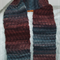 Pure Wool Scarf Long Hand Knitted Gift for Her / Him Rich Colours Soft Warm