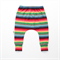 Rainbow Stripe knit harem pants. Boys or Girls
