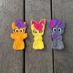My Little Pony Finger Puppet Set
