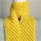 Woman's Pure Wool Scarf Hand Spun Dyed & Knitted Soft Warm Chartreuse