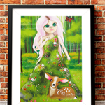 A3 Print - The Forest Spirit