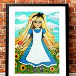 A3 Print - Alice in Wonderland