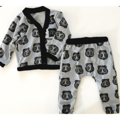 Retro Cardi & Slouch Pants Set