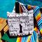 SALE !! FREE SHIPPING - Large Reversible Tote Bag - USA/NYC shopping tote bag