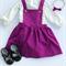 Size 0 - Monochrome Spotty Long Sleeve Romper Playsuit