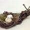 DORMICE Assemblage, Handmade Nest from Palm Tree, Viscose Dormice