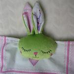 Baby Bunny Snuggle Cloth