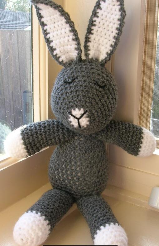 Crochet bunny Amigurumi bunny Crochet rabbit Stuffed bunny | Etsy | 785x510