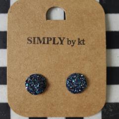 Rubi Earrings - Royal blue