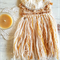 woven wall hanging - with vintage doily