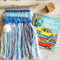 baby blues woven wall hanging