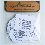 Alice In Wonderland Mixed Quotes Pack