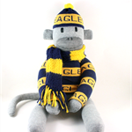 Footy Sock Monkey  - *MADE TO ORDER*