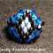Statement Crystal and Superduo Beaded Ring