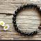Black Onyx Gemstone & Tiger Eye Bead Bracelet